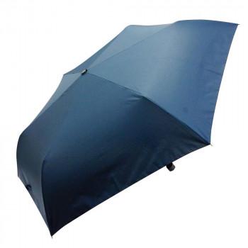 NEW ARRIVAL COCO-LIFEは 毎日がバーゲンセール その時 その時に生活の喜びを感じていただける 誰かに伝えたくなる 商品をより多くのお客様へお届けいたします 代引き 同梱不可 M63.5-1955 63.5cm ネイビー 折りたたみ傘 無地 mini VIVID-FLOW