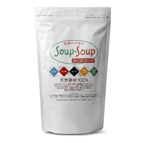 おいしい お手軽 食塩無添加 離乳食や減塩調理にもおすすめ お得なたっぷりタイプ 天然ペプチド 300g×2 お徳用 600g Soup 驚きの価格が実現 永遠の定番モデル スープ