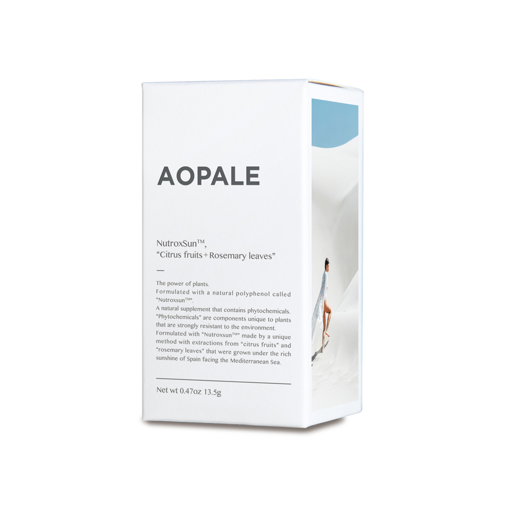 AOPALE(アオパレ)飲む日焼け止め 30粒(ボトルタイプ)