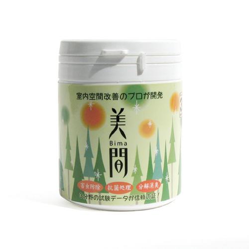 国産のヒバ ヒノキをはじめ樹木抽出成分を有効活用した安心の防虫剤です お求めやすく価格改定 心癒す森の香り 美間ジェル 休日 200g