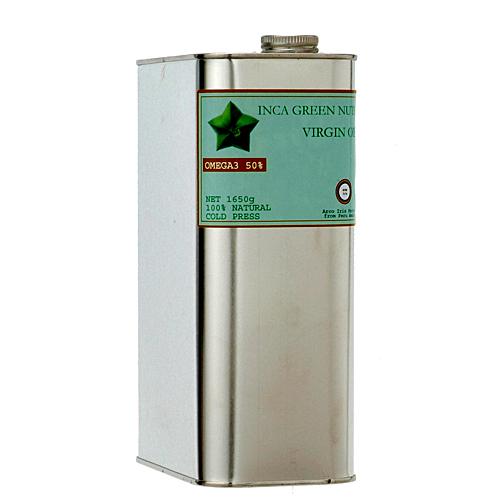 オメガ3脂肪酸 最安値に挑戦 α‐リノレン酸 が多く含まれるペルーアマゾン産のインカグリーンナッツ サチャインチ を搾った油 インカインチオイル1650g 贈答品 インカグリーンナッツ