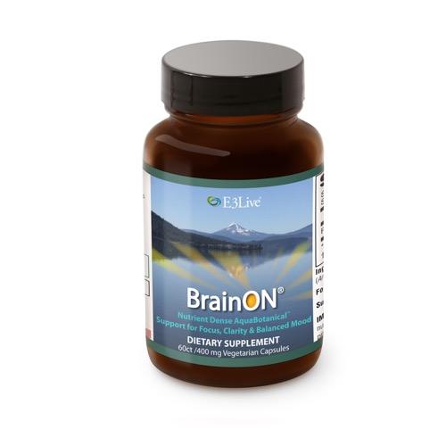 イースリーライブ(E3Live) BrainON カプセル 30g (500mg×60カプセル)