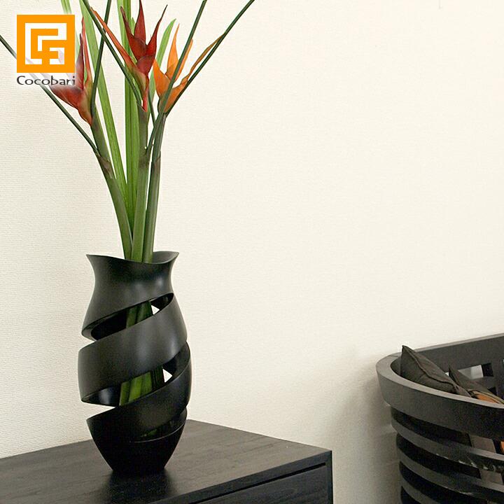 Flower Vase Classy【 おしゃれ 木製 花瓶 フラワーベース 高級感 シンプル デザイン モダン 和室 クラッシィ 】