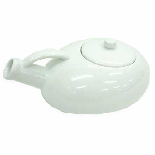 不景気なんてぶっ飛ばせ!ジョーク&おもしろ食器大集合! 尿瓶型ティーポットsan2052(陶器製) 尿瓶ポット
