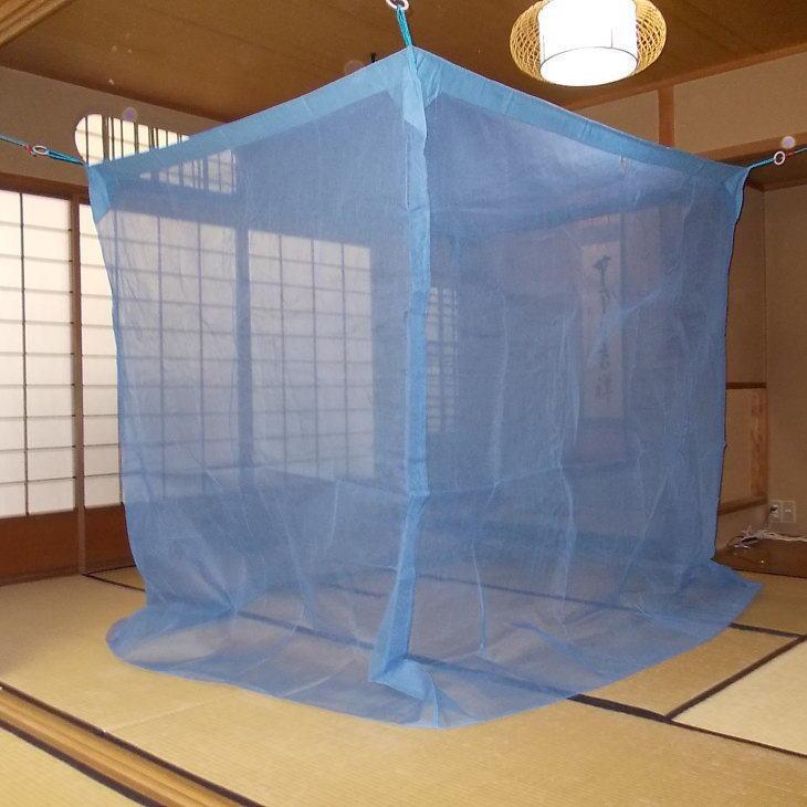 【キャッシュレス決済で5%還元!】京都西川の蚊帳(かや) 清流 3畳用 150×200×190センチ 内祝い 出産祝い 出産内祝い 結婚内祝い 結婚祝い 記念品 ギフト 景品 プレゼント