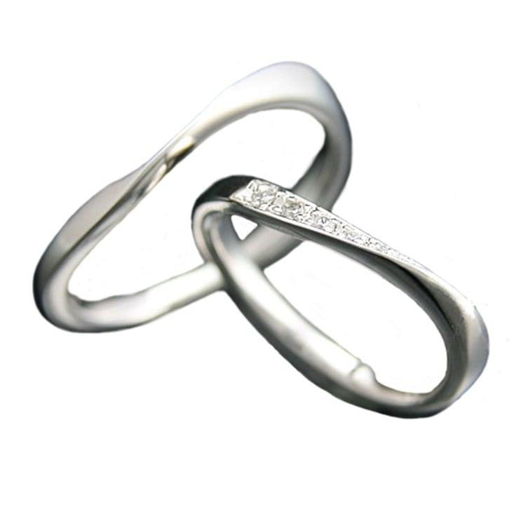 ペアリング pt900 女性 20代 30代 40代 50代 60代 プラチナ900 ダイヤモンド ギフト 通信販売 2本セット 日本製 ホワイトデー プレゼント 金属アレルギー 品質保証書 天然ダイヤ smtb-s 与え