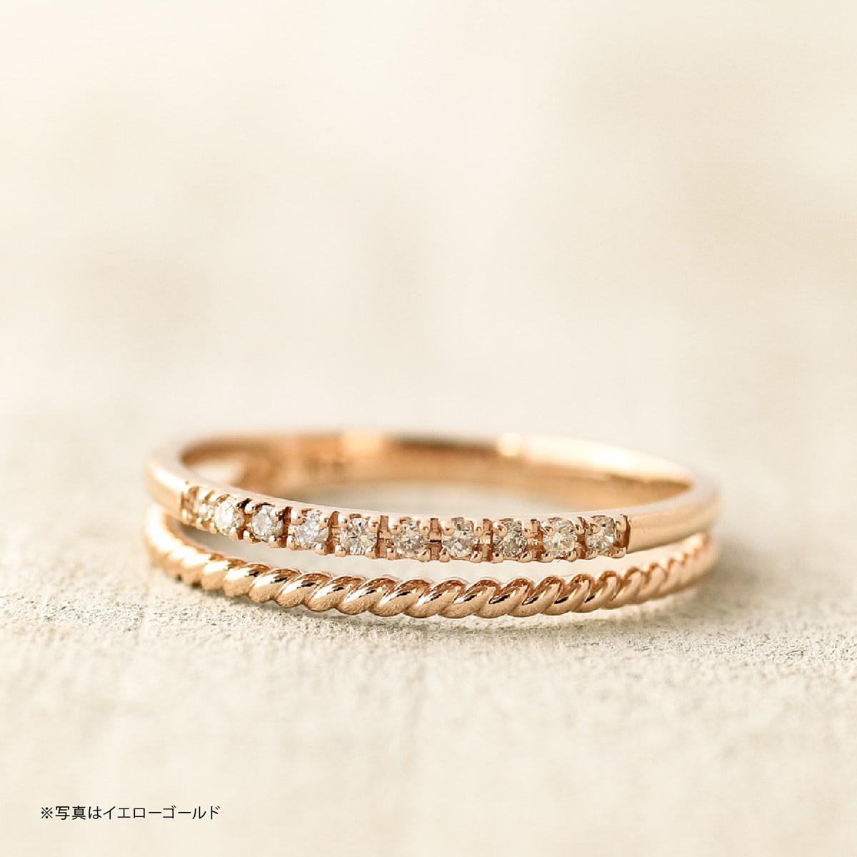 ダイヤモンド リング k10 イエローゴールド ホワイトゴールド ピンクゴールド ファッションリング 品質保証書 金属アレルギー 日本製 誕生日 ギフトXiTOukPZ