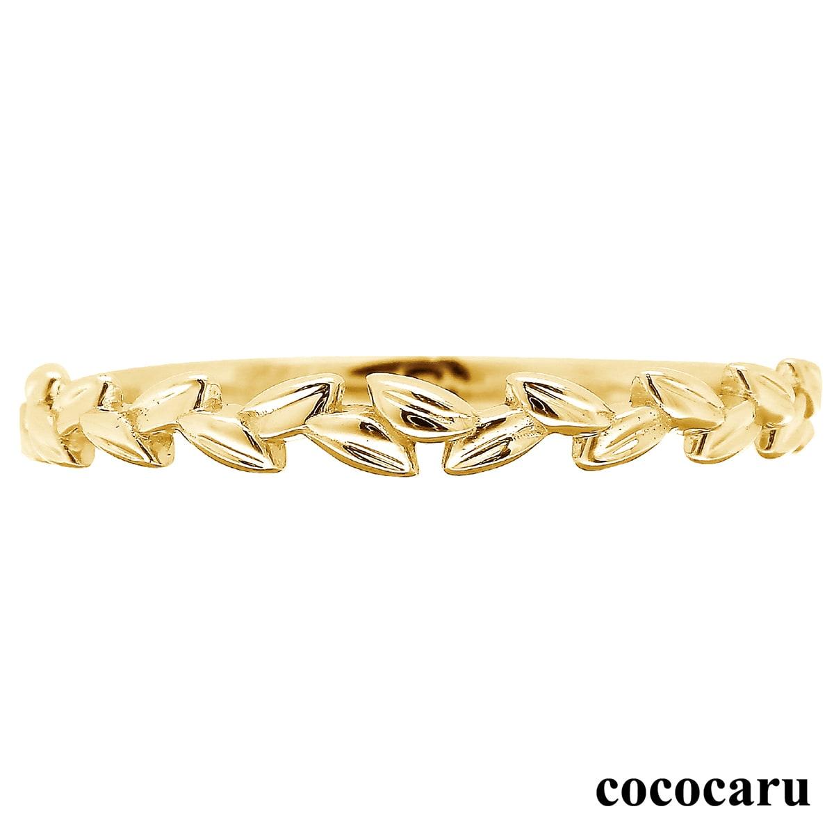 地金 リング k10 イエローゴールド/ホワイトゴールド/ピンクゴールド ファッションリング 品質保証書 金属アレルギー 日本製 成人祝い