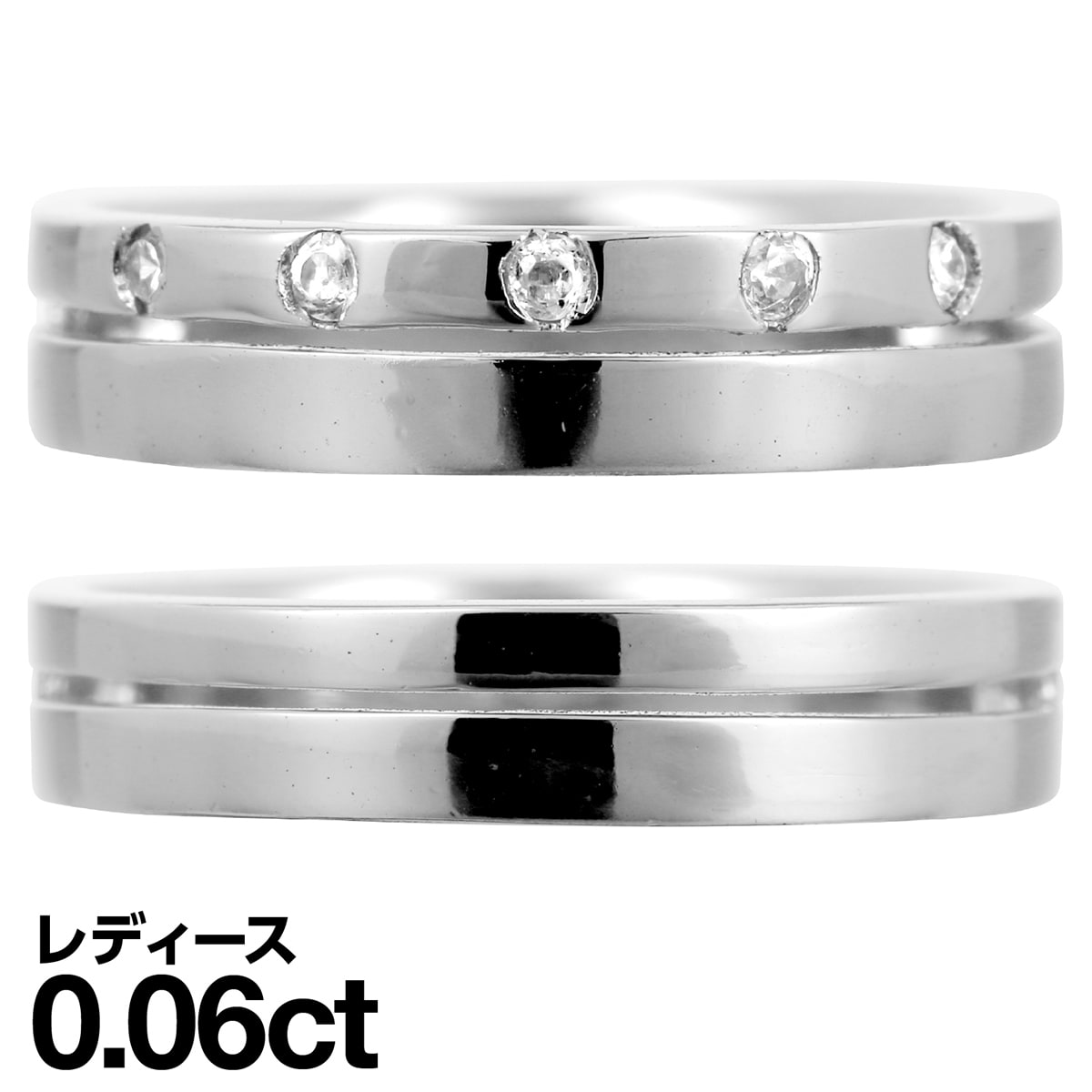 大好き 結婚指輪 マリッジリング k18 イエローゴールド/ホワイトゴールド/ピンクゴールド ダイヤモンド 2本セット 品質保証書 金属アレルギー 日本製 クリスマス ギフト プレゼント, デイリーグッズショップ 8e497e40