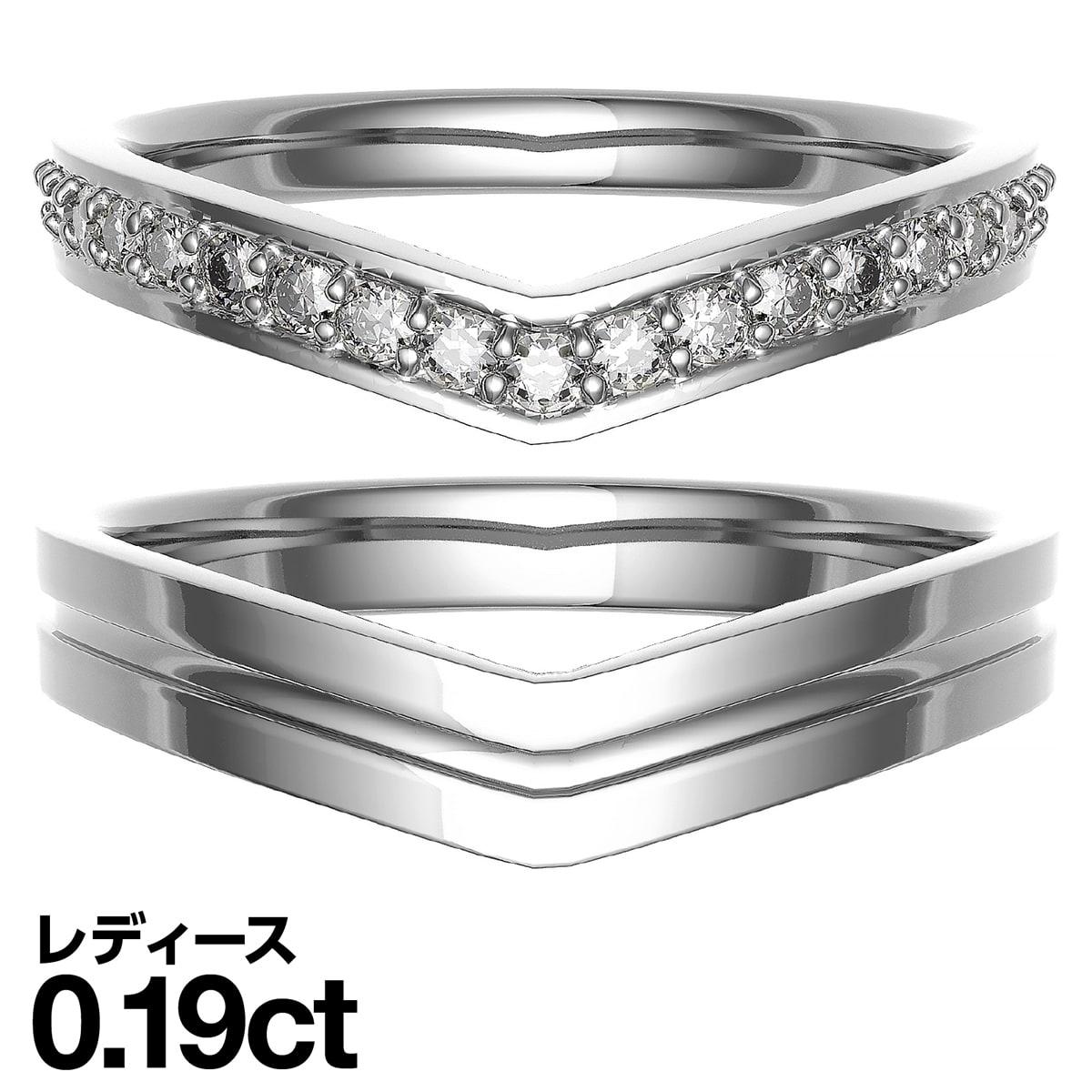 驚きの安さ 結婚指輪 マリッジリング プラチナ900 ダイヤモンド 2本セット 品質保証書 金属アレルギー 日本製 クリスマス ギフト プレゼント, ヘアダイレクト d372e3f5