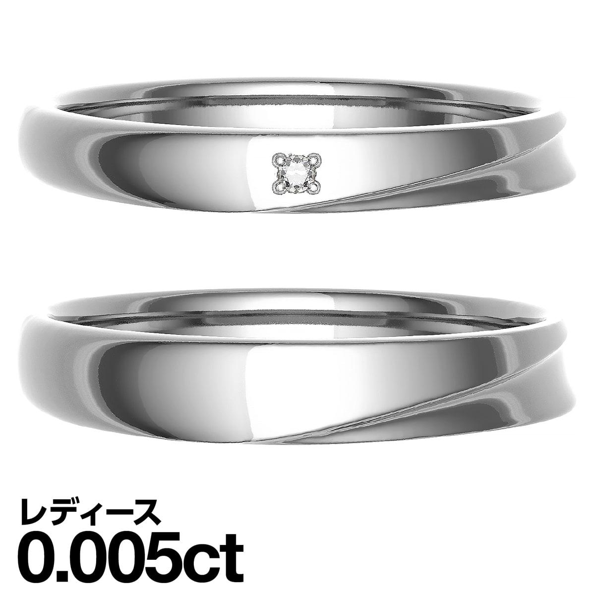 結婚指輪 ペアリング K10ゴールド 2本セット 天然 ダイヤモンド 日本製 【ゴールド】【ダイヤモンド】 【マリッジリング】