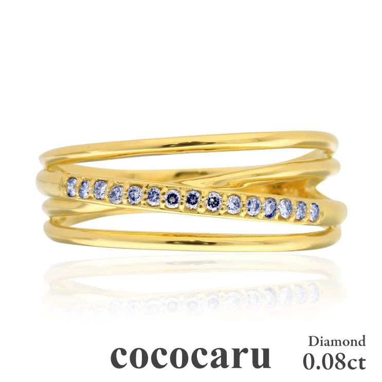 指輪 ホワイトゴールド リング ダイヤリング K18 ホワイトゴールド イエローゴールド ピンクゴールド 天然 ダイヤモンド リング 日本製【NEWショップ】【送料無料】 【指輪】【リング】【ダイヤモンド】