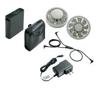 NSP FAN-BT 8110841 リチウムイオンバッテリー 白ファンセット 株式会社空調服/NSP