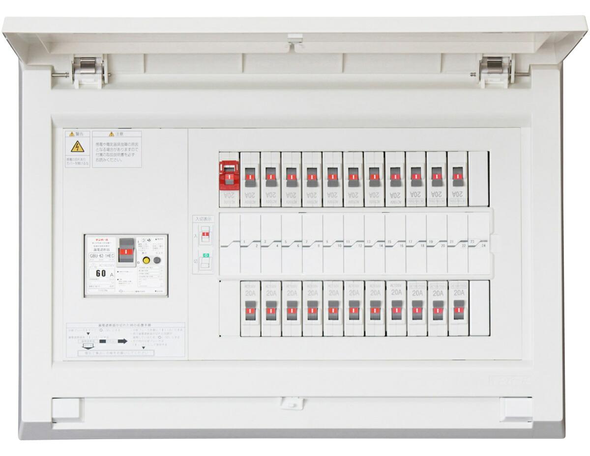 Tempearl テンパール MAG36182F1 パールテクト MAG-F1 住宅用分電盤 1次送り回路付