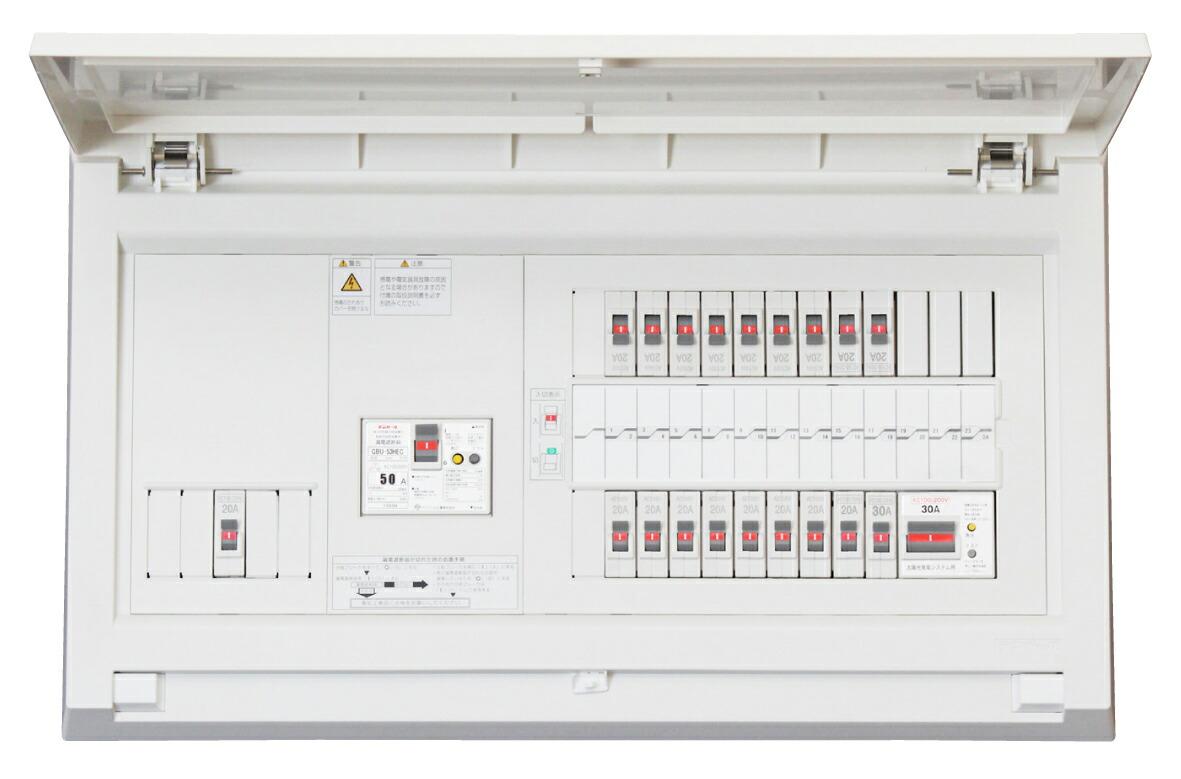 Tempearl テンパール MAG36223IT2B2 パールテクト MAG-IT2B2 住宅用分電盤 太陽光発電システム IHクッキングヒーター エコキュート (端子台付)