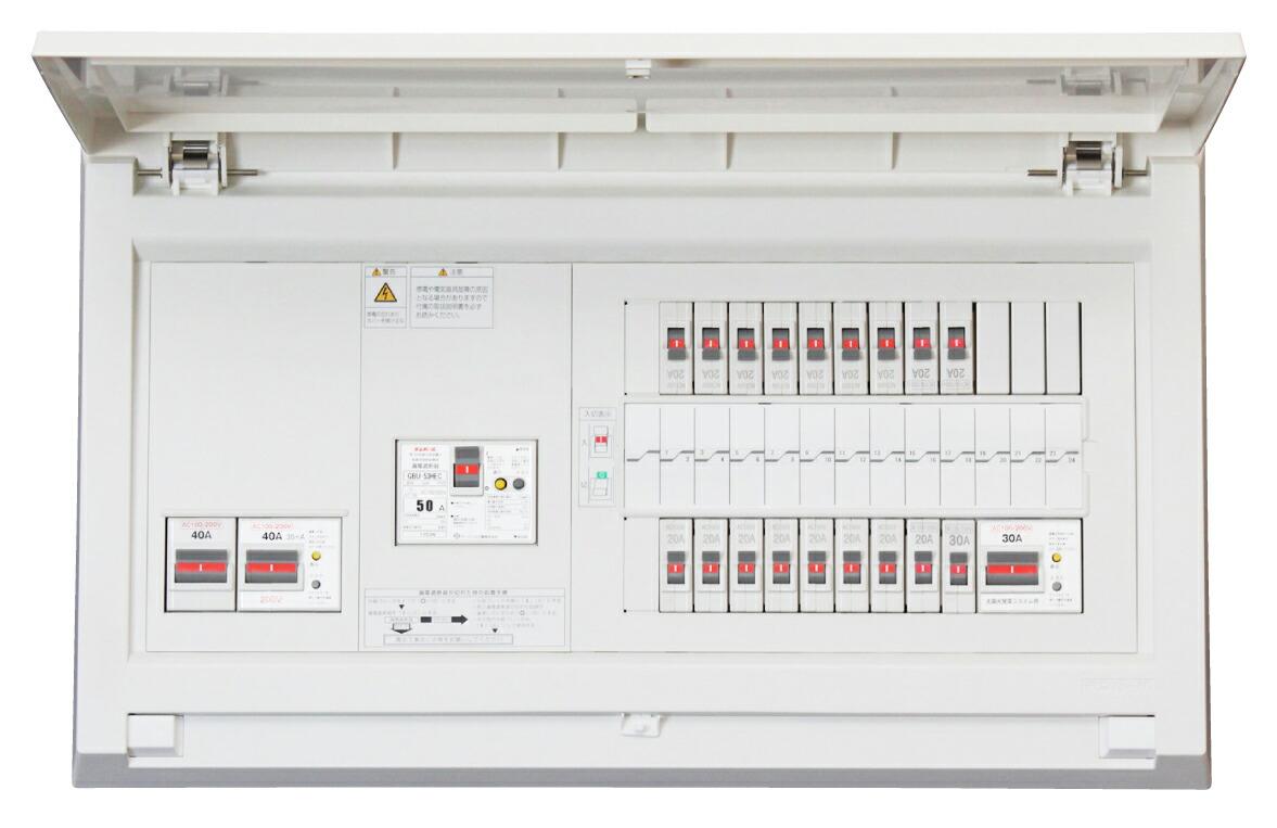 Tempearl テンパール MAG310263IT2B4E4 パールテクト MAG-IT2B4E4 住宅用分電盤 太陽光発電システム IHクッキングヒーター エコキュート (端子台付) 蓄熱暖房器