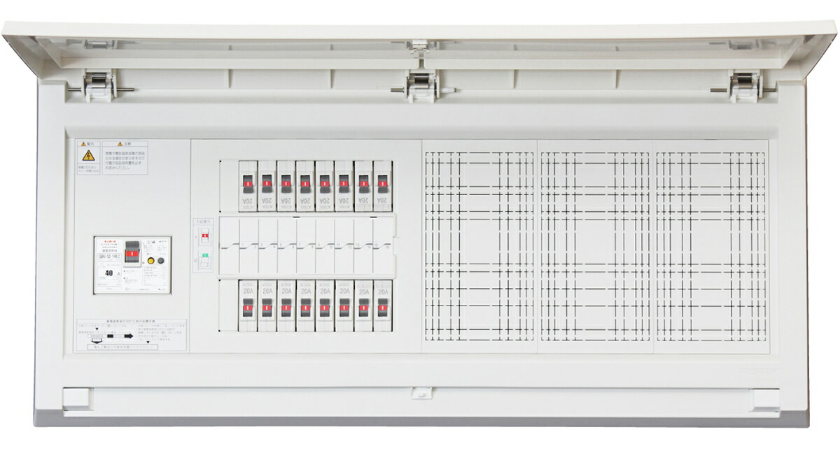 Tempearl テンパール MAG310182W パールテクト MAG-W 住宅用分電盤 扉付 ワイド付属機器取付スペース付