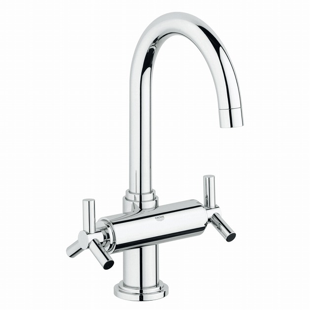 GROHE[グローエ] GROHE SPA COLLECTIONS 【21 019 00J】 アトリオ 2ハンドル洗面混合栓(引棒付) 【メーカー直送のみ・代引き不可】