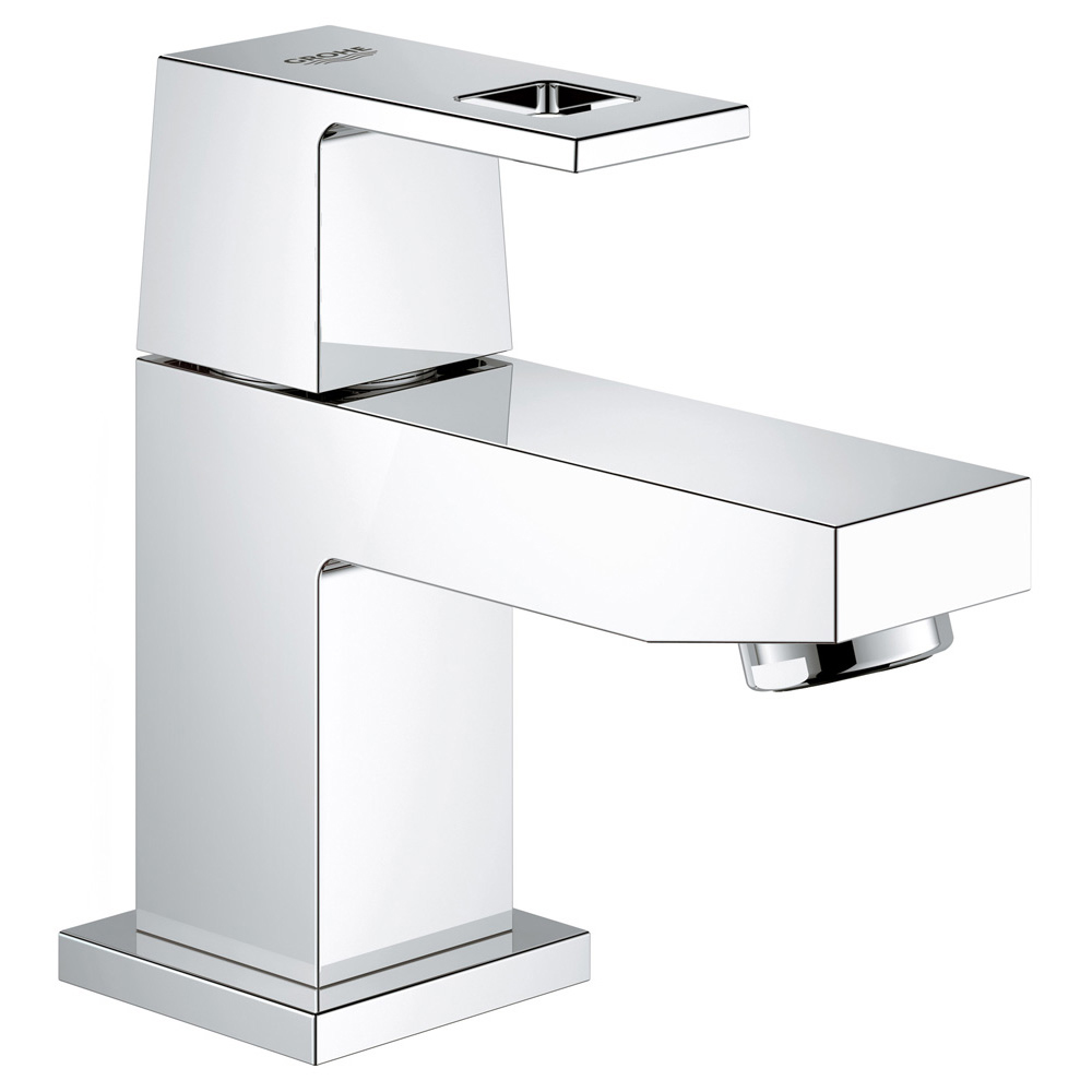 GROHE グローエ 洗面用水栓 23 137 00J ユーロキューブ 単水栓 [メーカー直送][代引不可]