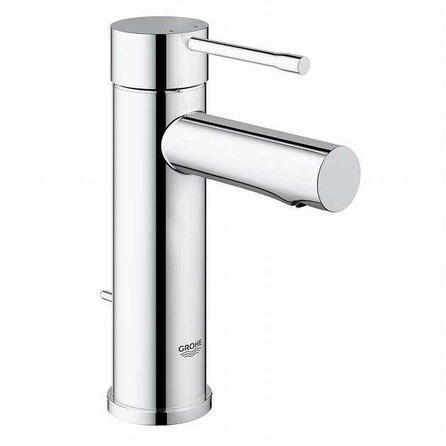 GROHE[グローエ] 洗面用水栓 【32 164 001】 エッセンス シングルレバー洗面混合栓(引棒付) 【メーカー直送のみ・代引き不可】