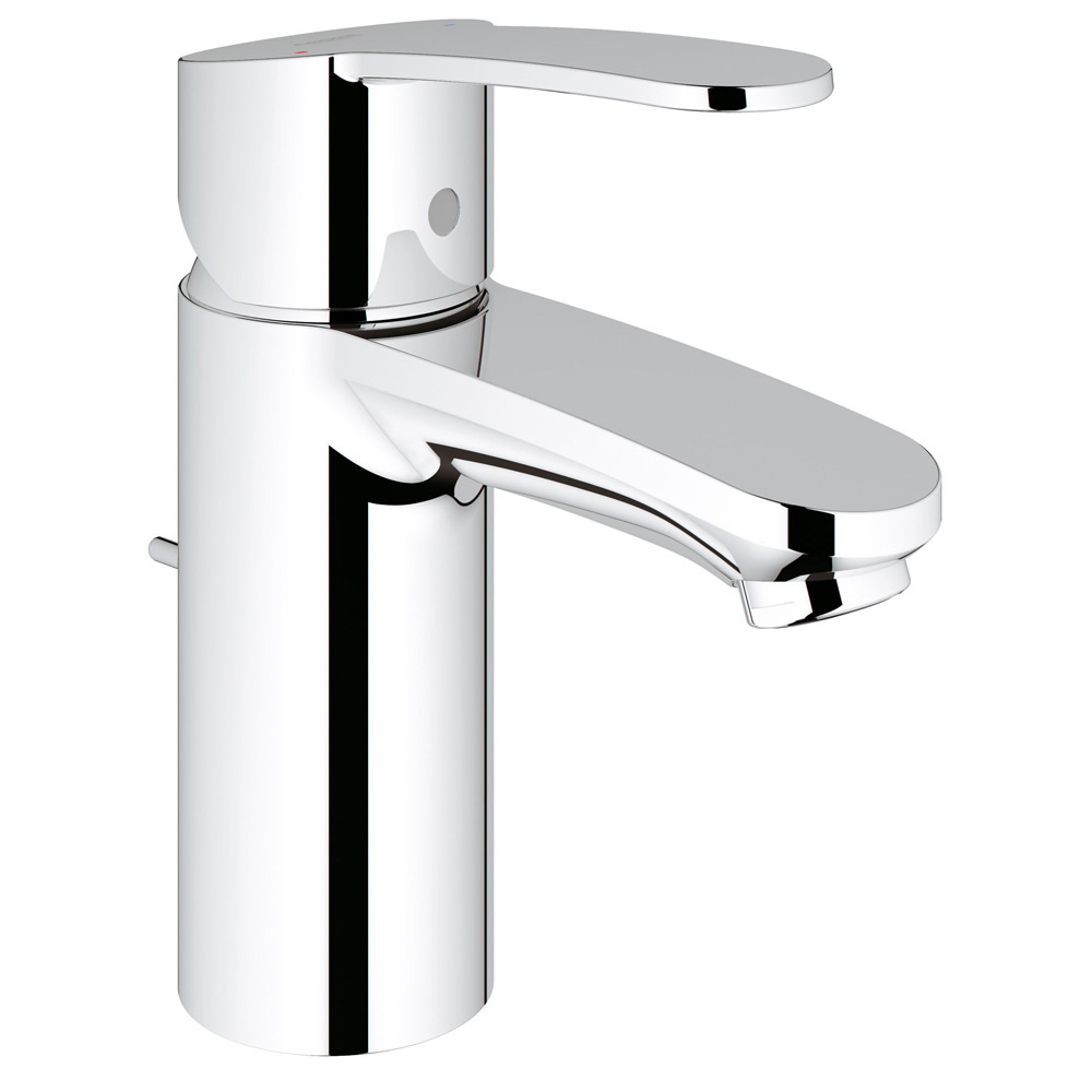 GROHE[グローエ] 洗面用水栓 【32 357 00J】 ユーロスタイルコスモポリタン シングルレバー洗面混合栓(引棒付) [メーカー直送][代引不可]