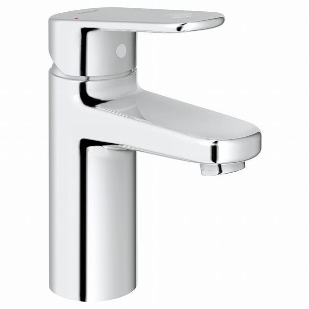 GROHE[グローエ] 洗面用水栓 【32 627 20C】 ユーロプラス シングルレバー洗面混合栓(引棒なし)寒冷地仕様 【メーカー直送のみ・代引き不可】