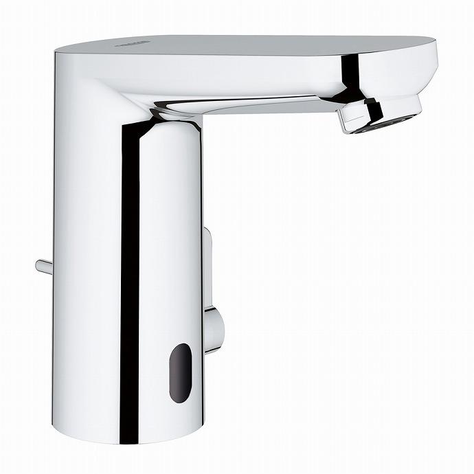GROHE[グローエ]ユーロスマートコスモポリタンE・自動混合水栓(引棒付)【3633110J】【メーカー直送のみ・代引き不可】
