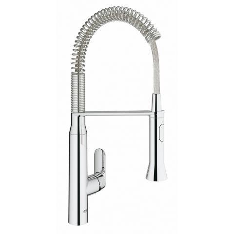 GROHE[グローエ] キッチン用水栓 【JP 3010 01】 K7 シングルレバーキッチン混合栓 [メーカー直送][代引不可]