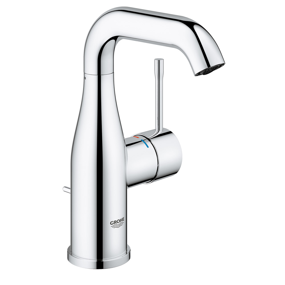 GROHE[グローエ] 洗面用水栓 【JP 3046 00】 エッセンス シングルレバー洗面混合栓(引棒付)寒冷地仕様 [メーカー直送][代引不可]