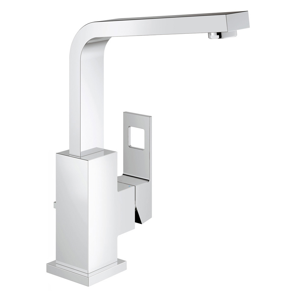 GROHE[グローエ] 洗面用水栓 【JP 3049 00】 ユーロキューブ シングルレバー洗面混合栓(引棒付) [メーカー直送][代引不可]