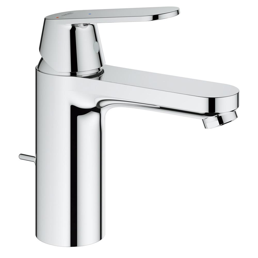 GROHE[グローエ] 洗面用水栓 【JP 3639 01】 ユーロスマートコスモポリタン シングルレバー洗面混合栓 コールドスタート仕様(ロング引棒付) [メーカー直送][代引不可]