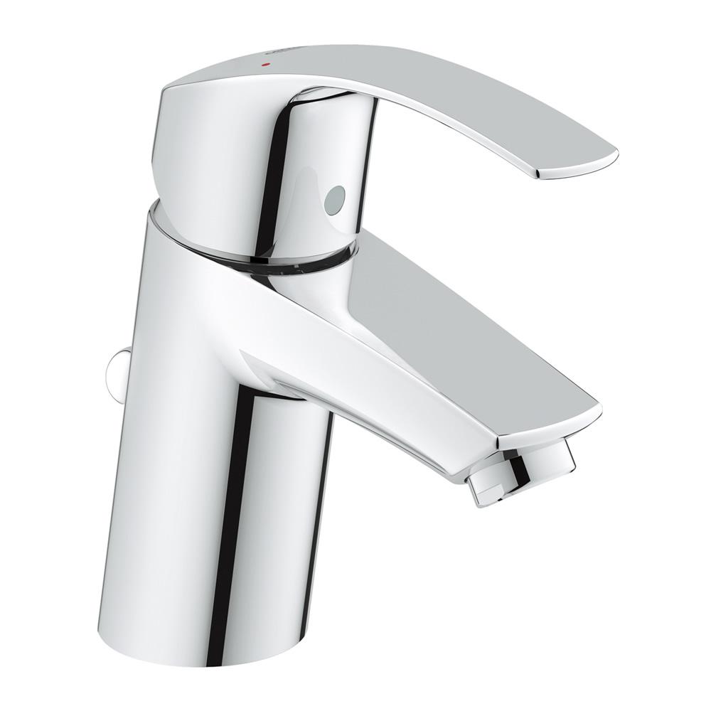 GROHE[グローエ] 洗面用水栓 【JP 5687 00】 ユーロスマート シングルレバー洗面混合栓(引棒付) [メーカー直送][代引不可]