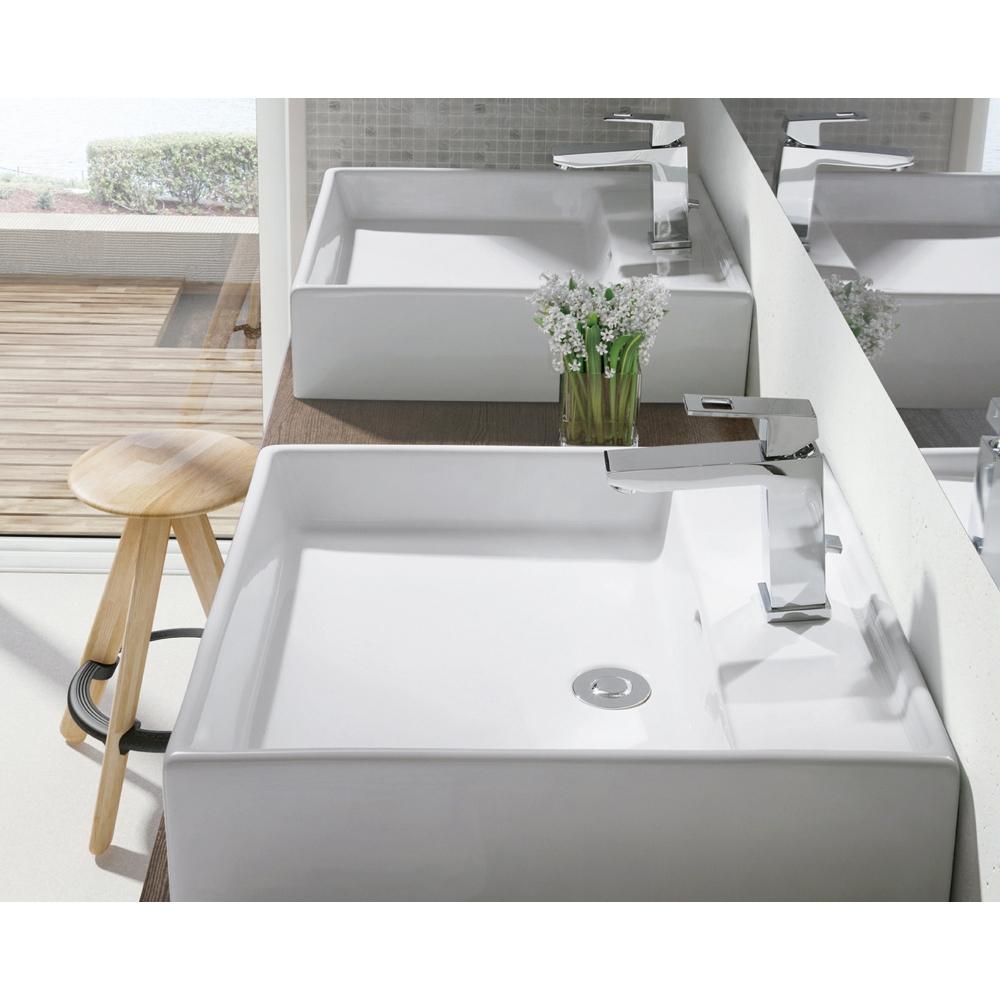 GROHE グローエ 洗面器・バスタブ・トイレ JPK 11100 グローエジャパンコレクション 洗面器 スクエア型ベッセル洗面器タイプ (ボトルトラップ) [メーカー直送][代引不可]