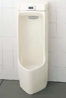 【AWU-807RL】 INAX イナックス LIXIL・リクシル トイレ センサー一体形ストール小便器 AC100V仕様 ハイパーキラミック