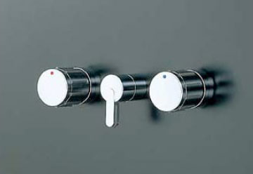 INAX イナックス LIXIL・リクシル 水栓金具 埋込形 2ハンドル混合水栓 パブリック向け 【BF-280W-13】 ヴィラーゴシリーズ 呼び径13mm 切替弁付 上下向吐水