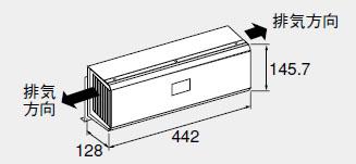 【0707138】ノーリツ 給湯器 関連部材 側方排気カバー 側方排気カバーS34
