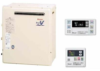 RUF-A2400SAG (A) MBC-120V リンナイ ガスふろ給湯器 マルチリモコンセット 24号 オート ユッコUF 屋外据置型 RUFA2400SAGA [代引不可]