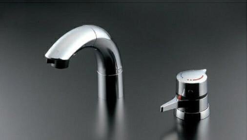 TOTO 洗面所用水栓金具【TLNW46Z】(寒冷地用) シャンプー水栓 サーモスタット混合栓(ホース付きタイプ) 節水・鉛低減