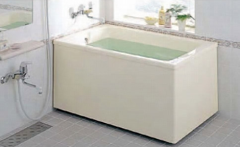 INAX 浴槽 バスタブ ポリ浴槽 【PB-1112BL/L11】【PB-1112BR/L11】 ポリエック お風呂 1,200サイズ 和洋折衷タイプ 2方全エプロン【代引き不可】