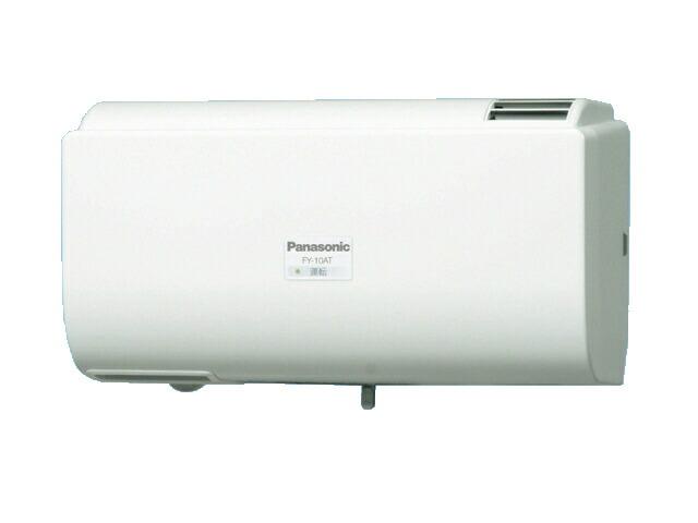 パナソニック 換気扇 メーカー直送 FY-10AT-W Q-hiファン自動運転形 10畳用 同時給排タイプ 色:クリスタルホワイト Q-hiファン 壁掛形 〈室内外温度差による自動運転形〉 D オーバーのアイテム取扱☆