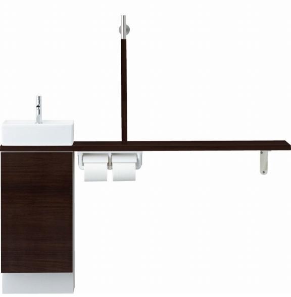 INAX LIXIL リクシル トイレ手洗 キャパシア YN-AALEAAKXAJX-N YNAALEAAKXAJXN カウンターキャビネットプラン 左仕様 床壁共通給水 壁排水 [メーカー直送][][後払い決済]