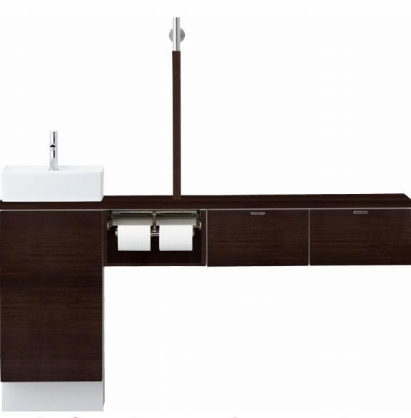 INAX LIXIL リクシル トイレ手洗 キャパシア YN-AALEBEKXHJX-N YNAALEBEKXHJXN セミフロートキャビネットプラン 左仕様 床壁共通給水 壁排水 [メーカー直送][][後払い決済]