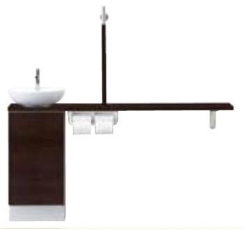 INAX LIXIL リクシル トイレ手洗 キャパシア YN-ABLEAAKXAJX-N カウンターキャビネットプラン 丸形手洗器 YNABLEAAKXAJXN [メーカー直送][][後払い決済]