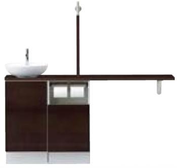 INAX LIXIL リクシル トイレ手洗 キャパシア YN-ABREABKXAJA サイドベースキャビネットプラン 丸形手洗器 YNABREABKXAJA [メーカー直送][][後払い決済]