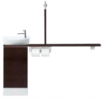 INAX LIXIL リクシル トイレ手洗 キャパシア YN-ALREAAKXWEC カウンターキャビネットプラン 丸形手洗器 YNALREAAKXWEC [メーカー直送][][後払い決済]