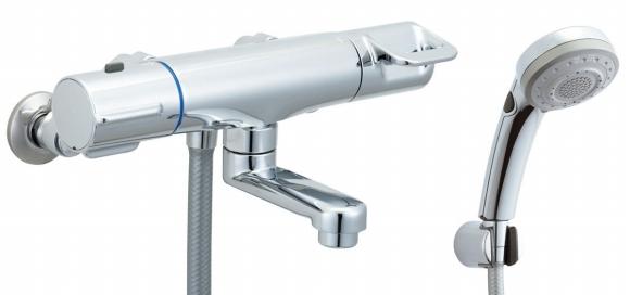 BF-HB147TNSBW INAX イナックス LIXIL リクシル シャワーバス水栓 クロマーレ+エコフルスイッチ多機能シャワー サーモスタット付シャワーバス水栓 [寒冷地対応商品] BFHB147TNSBW