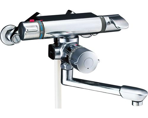 INAX LIXIL リクシル 浴室用水栓金具 シャワーバス水栓浴槽・洗い場兼用 サーモスタット付シャワーバス水栓 エコフルスプレーシャワー アステシア BF-7140TNSD BF7140TNSD