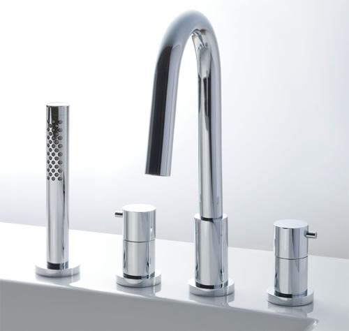 INAX LIXIL 浴室用水栓 BF-HS614HL XSITE シャワーバス水栓デッキタイプ ニッケルクロムメッキ 納期4週間 引っ越し祝い 快気祝 キャッシュレス5%還元対象 SBおゆうぎ会 年末バーゲン 喜寿祝
