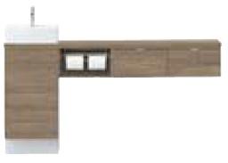 日本最大級 YN-AALEBEKXHJX INAX 角形手洗器 イナックス LIXIL リクシル キャパシア INAX セミフロートキャビネットプラン カウンター奥行280 ベッセル型 左仕様 角形手洗器 左仕様 床壁共通給水仕様 壁排水 スタンダード, ヤカゲチョウ:1910687f --- eurotour.com.py