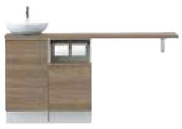 完璧 YN-ABLEABKXHJX INAX ベッセル型 イナックス LIXIL リクシル 壁排水 キャパシア リクシル サイドベースキャビネットプラン カウンター奥行280 ベッセル型 丸形手洗器 左仕様 床壁共通給水仕様 壁排水 ミドルグレード, マルコ海苔:33ca19ff --- eraamaderngo.in